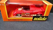 SOLIDO #41 ALFA ROMEO 33 TT12 CHAMPIONNE DU MONDE 1975 boxed MIB