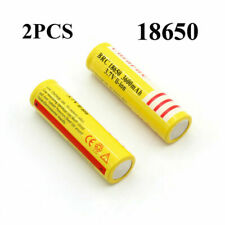 18650 3.7V BRC Rechargeable Li-ion Battery  3600mAh Lithium Cells For Headlamp