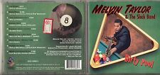 MELVIN TAYLOR CD Dirty Pool STAMPA AMERICANA 1997 made in USA 9 Tracce
