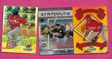 SALAZAR + PAT BURRELL + EDGARDO ALFONZO MLB  INSERT  CARD (INV# C3821)