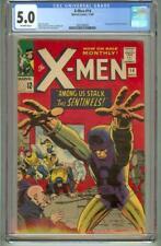 X-MEN # 14 CGC 5.0 FIRST SENTINELS 1965