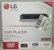 LG DP132H DVD Player, HD Upscaling, USB Direct Recording and Playback