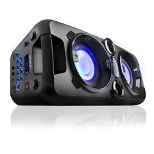 Blaupunkt PS1000 Boombox Lautsprecher Ghettoblaster Mikrofon Bluetooth Radio USB