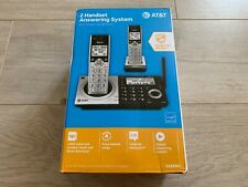 AT&T CL83207 Expandable Cordless Telephone System DECT 6.0 (2 Handsets)