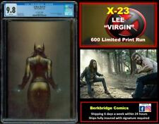 🔥 X-MEN RED #1 CGC 9.8  X-23 LEE VIRGIN 👀 LOOK NYX 3 FANS: 600 LIMITED PRINT