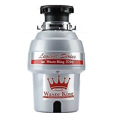 Waste King Legend L-3200 Garbage Disposal with Continuous-Feed & 3/4 Horsepower
