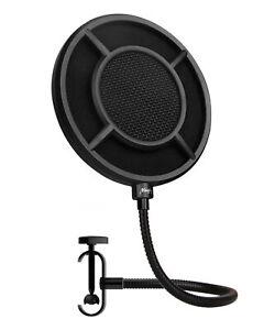 Popfilter Pop Filter Mikrofon Micro Microphone Schutz Abdeckung Musik Zubehör