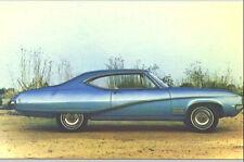 1968 Buick Skylark Custom 2-Door Sport Coupe Advertising Postcard