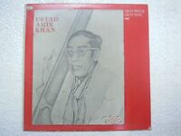 AMIR AMEER KHAN GREAT MASTER MUSIC VOCAL 1976 LP CLASSICAL INSTRUMENTAL VG+
