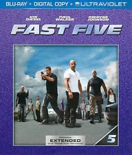 Fast Five (Blu-ray Disc, 2013) Free Shipping!