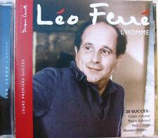 LEO FERRE (CD)  L'homme   20 SUCCES     CANETTI