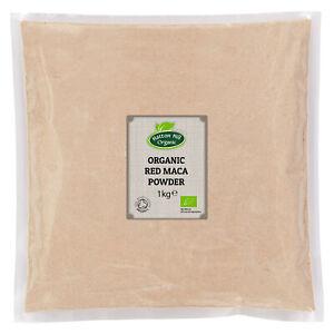 Organic Red Maca Powder Certified Organic