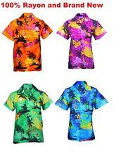 MEN HAWAIIAN SHIRT STAG BEACH HAWAII ALOHA PARTY SUMMER HOLIDAY FANCY S -XXL D21