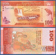 SRI LANKA  100 Rupees 2010  UNC  P.125