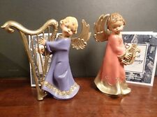 Fontanini 1995 Collector Club Musical Angels Sweet Harmony, Gift of Joy (Signed)
