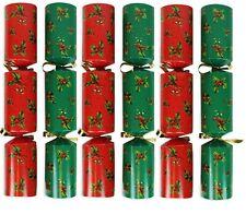 Noël Cracker Rouge & Vert - Boîte De 50 Paquet en Vrac Catering Christmas
