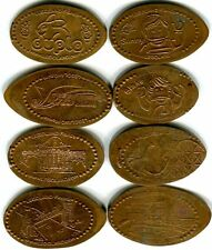 Mascots Sunny & Blake, Duplo & More Legoland Lot Of Eight Copper Pressed Pennies