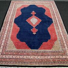Orient Teppich Dunkelblau 370 x 270 cm Perserteppich Alt Old Oriental Carpet Rug