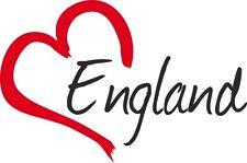 "Auto Aufkleber "" ENGLAND "" Sticker England Großbritannien ca.9x14cm konturge."