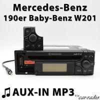 Mercedes Audio 10 CD MF2199 AUX-IN MP3 190er Radio Baby Benz W201 Autoradio