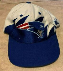New England Patriots NFL Pro Line Logo Athletics Shark Tooth Hat Cap Snap Back
