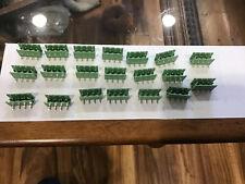 Header Terminal Block Connector 4 Pin PHOENIX 20 Pieces