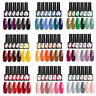 UR SUGAR 6 Bottles Combo Set UV Gel Polish Purple Gray Nail Gel Varnish 7.5ml