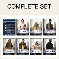 Topps Star Wars Card Trader Digital Complete Set Of 7 Rise Of Skywalker Series 1