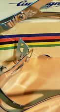 Campagnolo Pedal Toe Clips Nuovo Record Steel Small Vintage Bicycle Eroica NOS