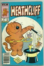 Heathcliff #4 1985 Marvel/Star Newsstand Canadian Price Variant Edtn. Low Grade