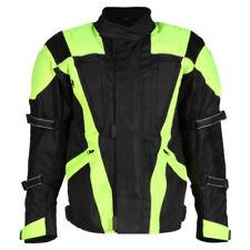 Blousons noir avec doublure thermique pour motocyclette Eté