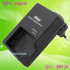 Genuine Original Nikon MH-24 Battery Charger For MH-24A EN-EL14 EN-EL14A Battery