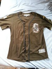 KYLE SEAGER- Seattle Mariners-authentic salute to service jersey Majestic Size M