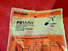 Westinghouse, PB1AAH, Pushbutton Switch