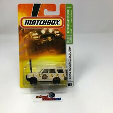 #1448  Land Rover Discovery #85 * Tan* Matchbox * HB21