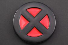 XMEN Rojo Negro Escudo De Metal Hebilla de cinturón Marvel Cíclope cómic muerto piscina