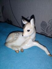 More details for a vintage russian lomonosov (ussr) fawn figurine in very good condition