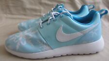 Nike Roshe Snowflake Sneakers Youth Size 7 Blue Lagoon White New Without Box