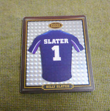 #AA.  2009  MELBOURNE STROM RUGBY LEAGUE FOOTY FRAME TAZO  #27  BILLY SLATER