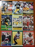 Rod Woodson HOF NICE 9 CARD LOT  Pittsburgh Steelers / Purdue
