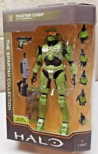 """Halo Infinite The Spartan Collection Master Chief 7"""" Figure w/ Game Add-On"""