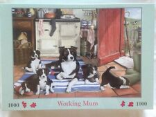 Brand New House of Puzzles 1000 Piece Jigsaw Puzzle - WORKING MUM