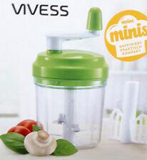 Mini Küchenmaschine Hand Zerkleinerer Schneider Manuell Mixer Mischer 300 ml