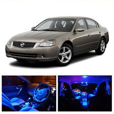 LED Blue Lights Interior License Package Kit For Nissan Altima 2002-2006 (10pcs)