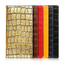Crocodile Pattern Leather Handmade Mobile Phone Cover Case for iPhone X/8/8Plus+