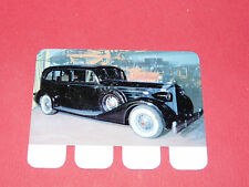 N°96 PACKARD 1934 PLAQUE METAL COOP 1964 AUTOMOBILE A TRAVERS AGES