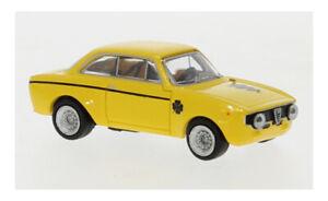 Alfa Romeo GTA 1300 - gelb - 1965 - 1:87 - Brekina (29701)