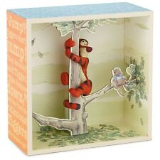 Winnie the Pooh Hundred Acre Wood Series - Tigger in a Tree Shadowbox - Hallmark