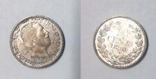 1890 Netherlands Silver 10 Cent -Super Nice