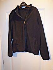 Girls Age 9-10 Black Zippy Zipper Fleece George